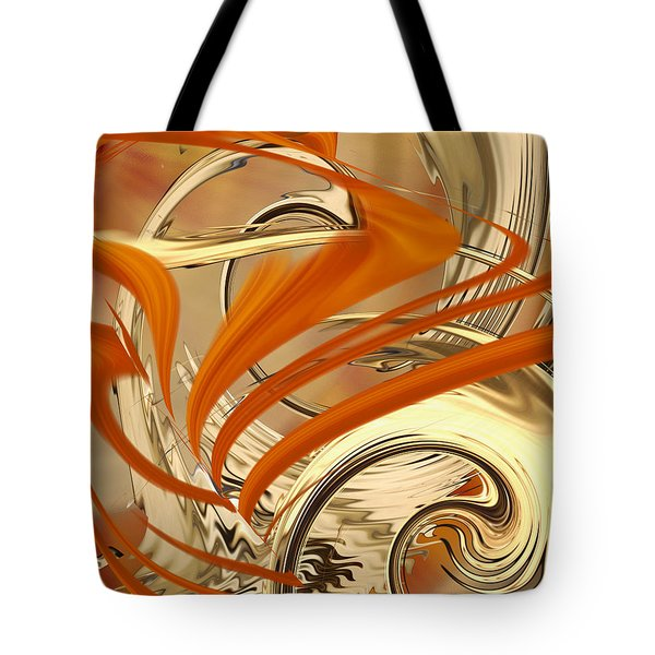 Leaking Color Tote Bag by Roy Erickson