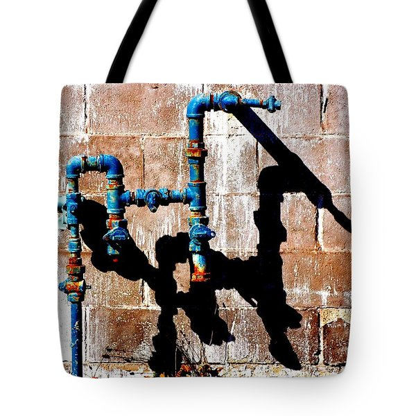 Tote Bag featuring the photograph Leaky Faucet II by Christiane Hellner-OBrien