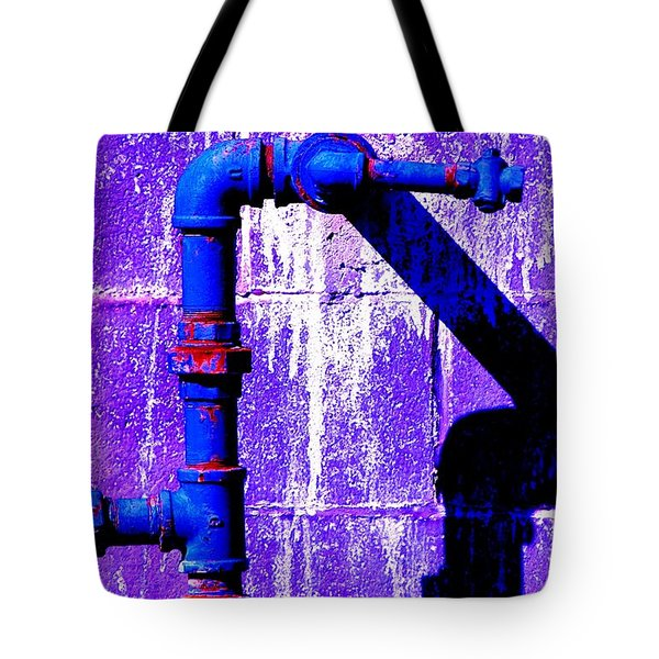 Tote Bag featuring the photograph Leaky Faucet IIi by Christiane Hellner-OBrien