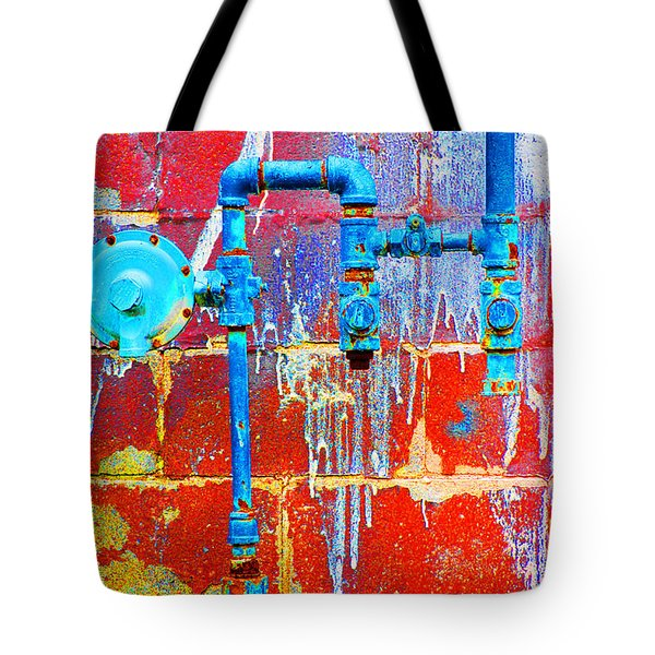 Tote Bag featuring the photograph Leaky Faucet by Christiane Hellner-OBrien