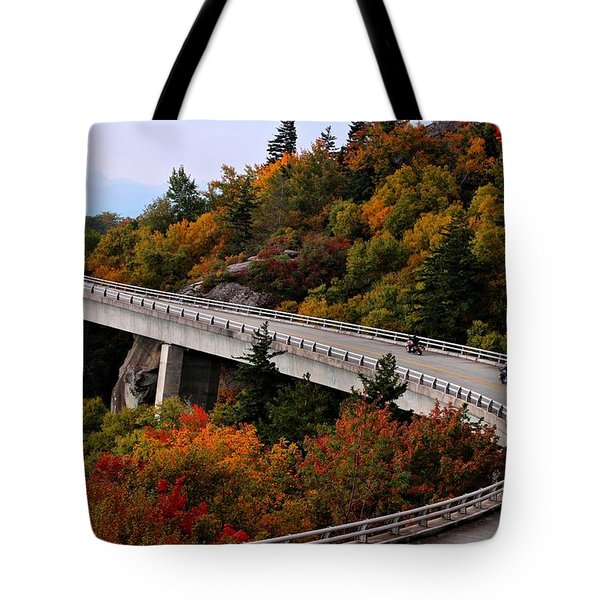 Lean In For A Ride Tote Bag