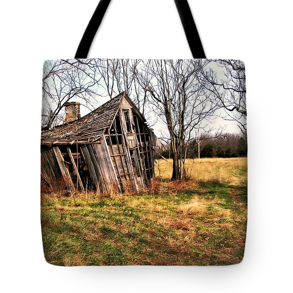 Lean To Tote Bag by Marty Koch