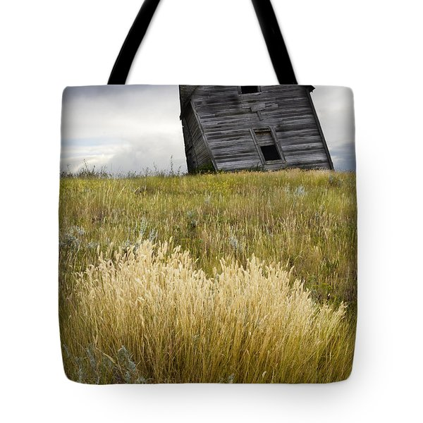 Leaning A Little Tote Bag by Bob Christopher