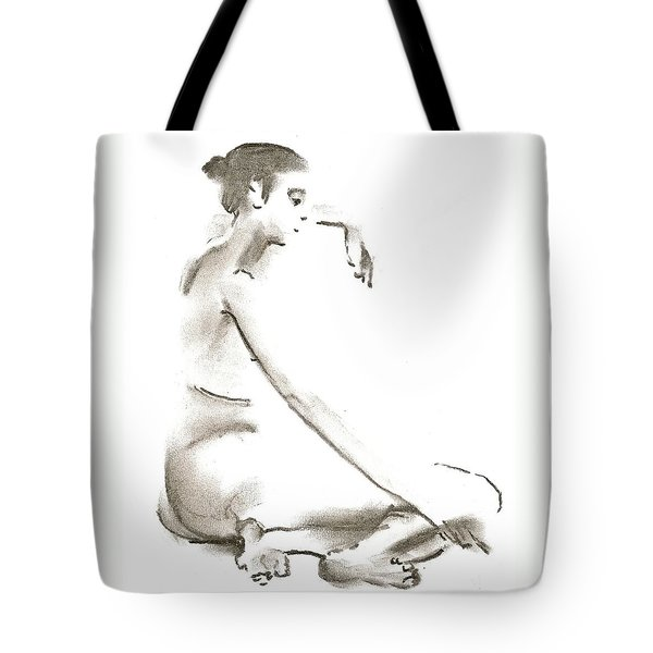 Leaning To The Side Lutar Sig Tote Bag