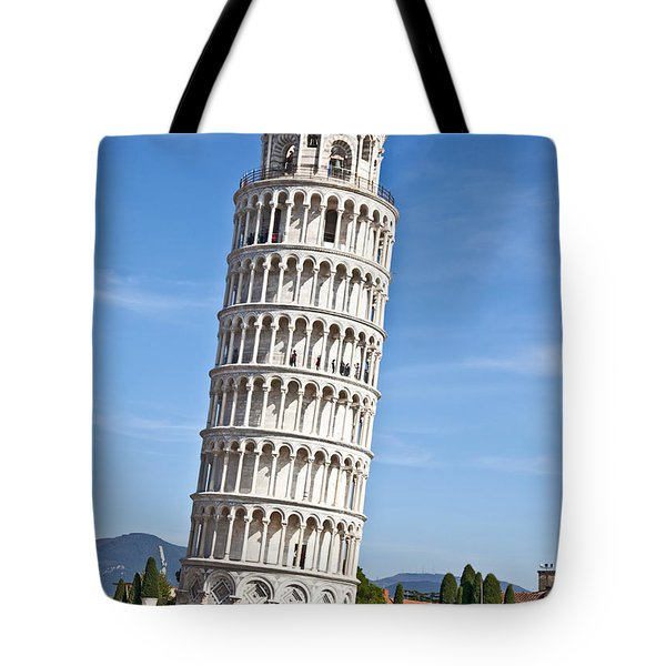 Leaning Tower Of Pisa Tote Bag