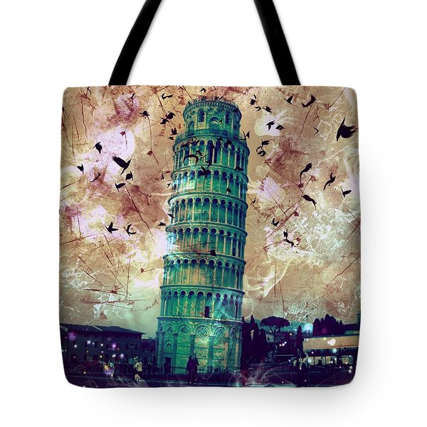Leaning Tower Of Pisa 1 Tote Bag
