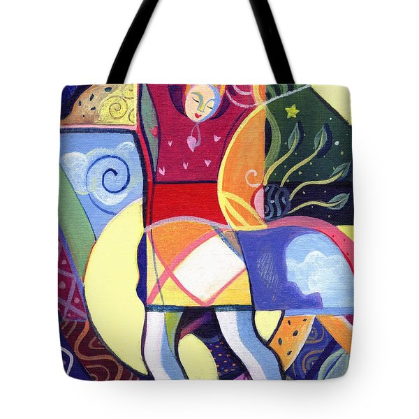 Leaping And Bouncing Tote Bag