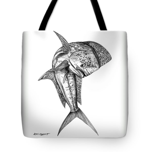Leaping Dolphin  Tote Bag