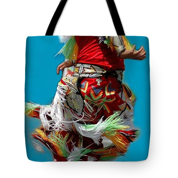 Leaping Into The Air Tote Bag by Kathleen Struckle