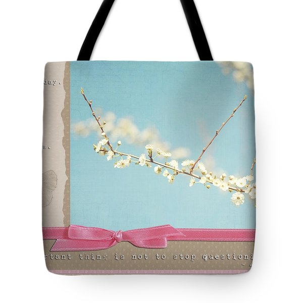 Learn Live And Hope Tote Bag by Lisa Knechtel