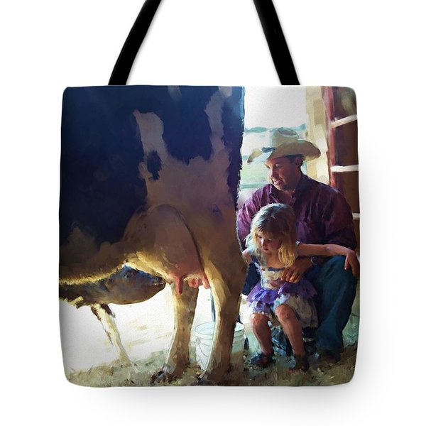 Learning How To Get Milk Tote Bag