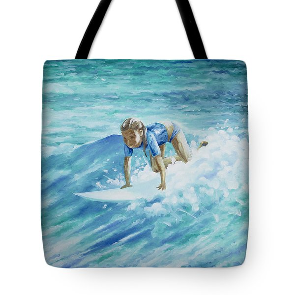 Learning To Fly Tote Bag by William Love