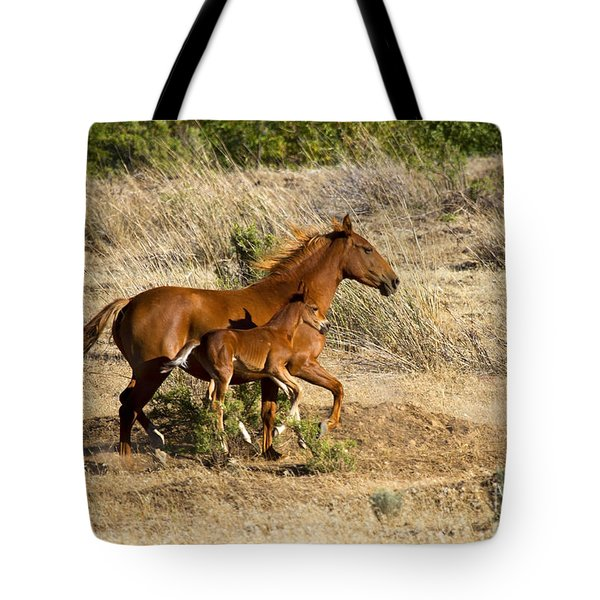 Learning To Run Tote Bag