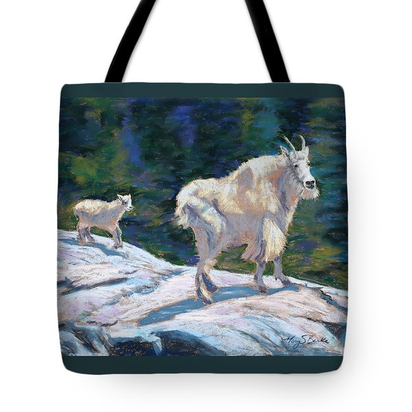 Learning To Walk On The Edge Tote Bag