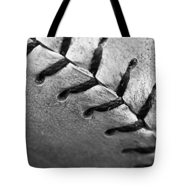 Leather Scars Tote Bag by Charles Dobbs