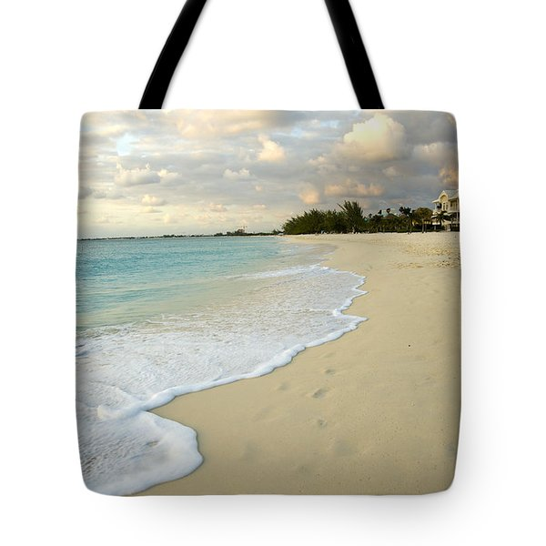 Leave Only Footprints In The Sand Tote Bag