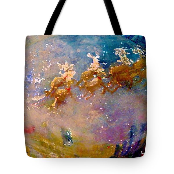 Leave Some Cookies For Santa Tote Bag by Lisa Kaiser