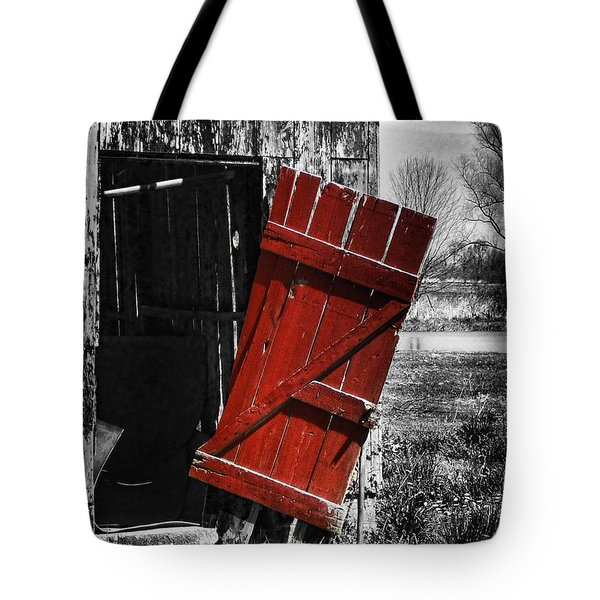 Leave The Door Open Tote Bag