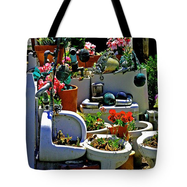Leave The Seat Up Tote Bag