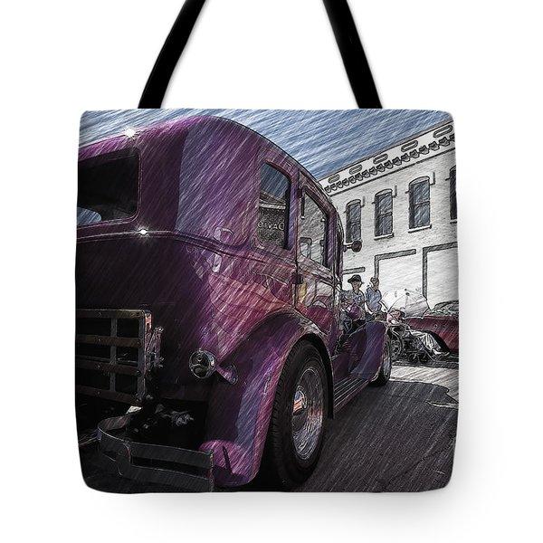 Leavenworth Kansas Tote Bag by Liane Wright