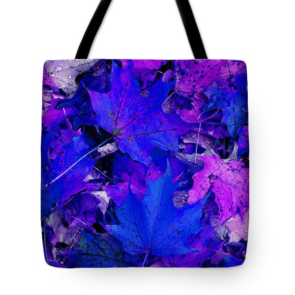 Leaves Tote Bag by Aimee L Maher Photography and Art Visit ALMGallerydotcom