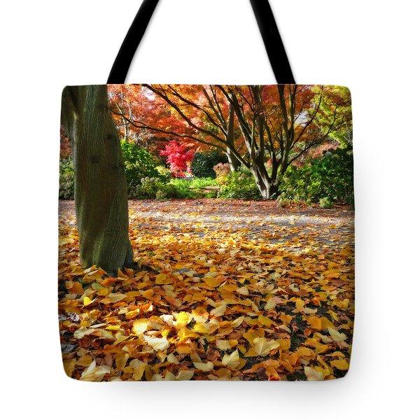 Leaves And More Leaves Tote Bag