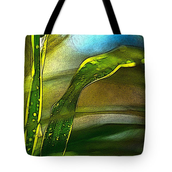 Leaves And Sky Tote Bag