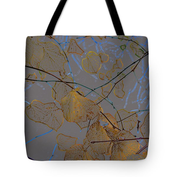 Leaves Tote Bag by Carol Lynch