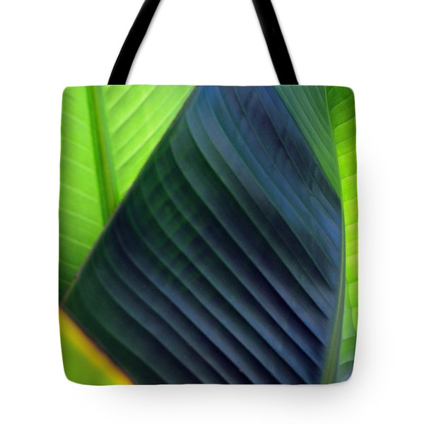 Leaves - Green Tote Bag