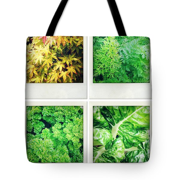 Leaves Tote Bag by Les Cunliffe