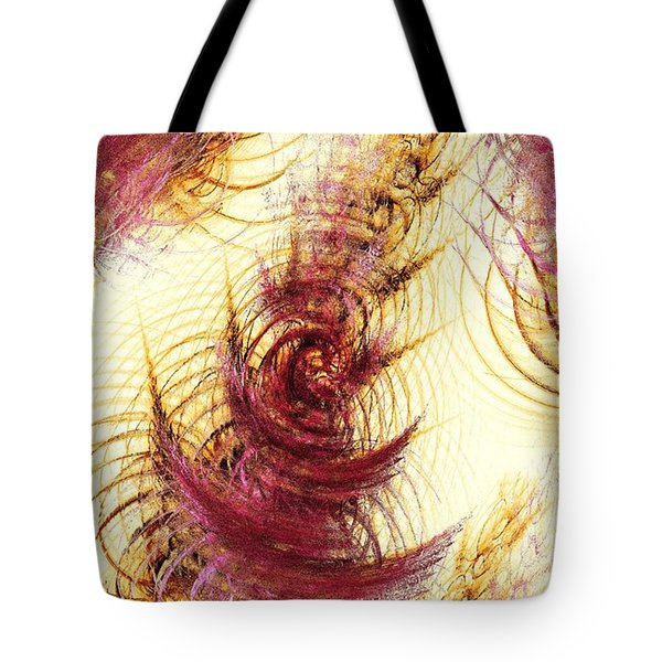 Leaves on a Water Tote Bag by Anastasiya Malakhova