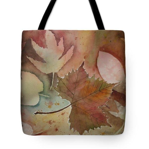 Leaves Tote Bag by Patricia Novack