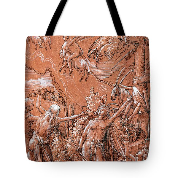 Leaving For The Sabbath Tote Bag