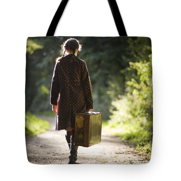 Leaving Home Tote Bag by Lee Avison