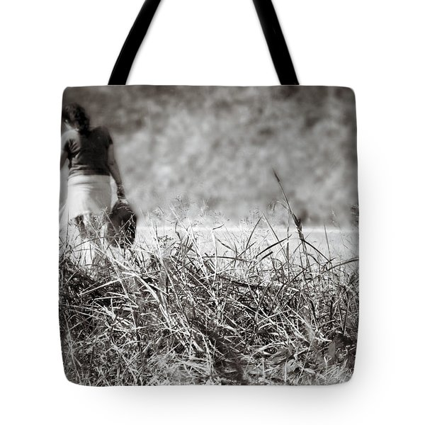 Leaving Tote Bag by Jason Politte
