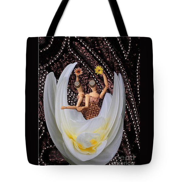 Tote Bag featuring the photograph Leaving by Nareeta Martin