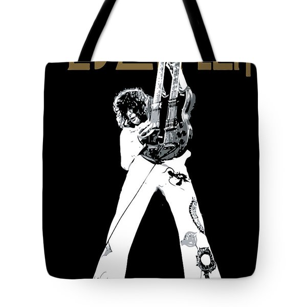 Led Zeppelin No.06 Tote Bag