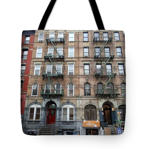 Led Zeppelin Physical Graffiti Building Tote Bag