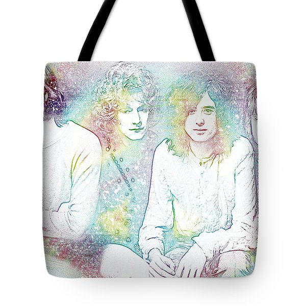 Led Zeppelin Tie Dye Tote Bag