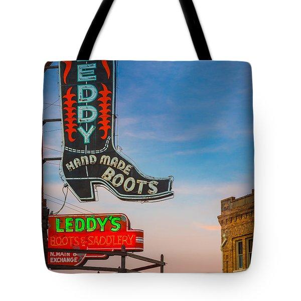 Leddy Boots Tote Bag