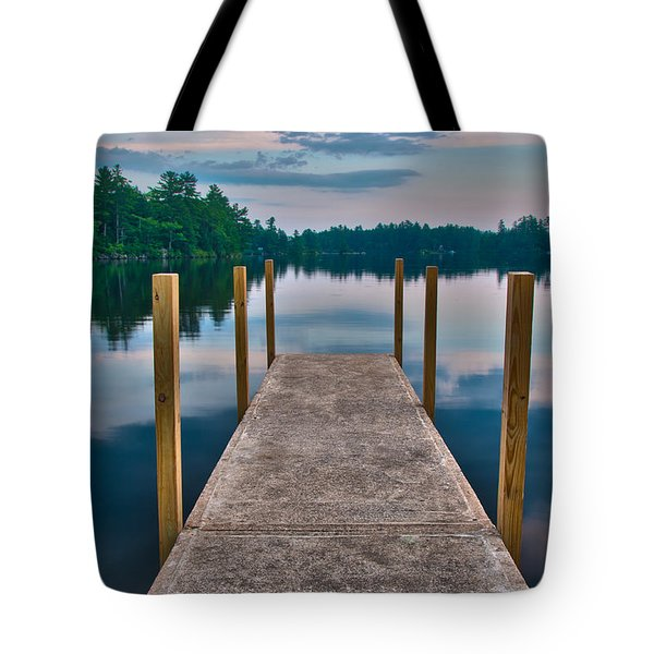 Lees Mills Dock Tote Bag