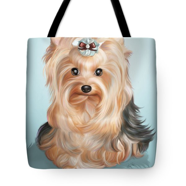 Leetl Luloo Zazu  Tote Bag by Catia Cho