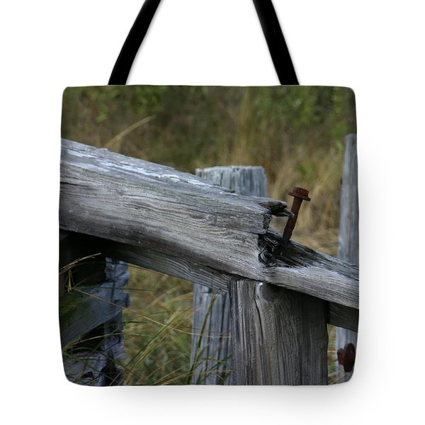 Left Behind At The Marsh Tote Bag by Denyse Duhaime