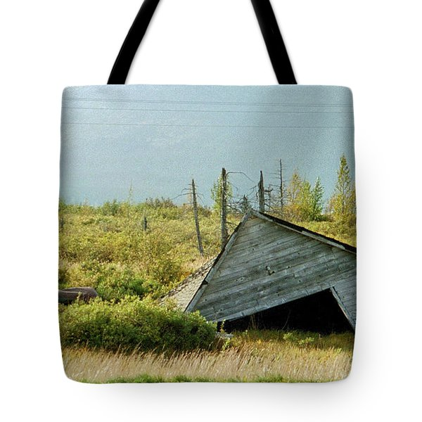 Left Behind Tote Bag by Denyse Duhaime