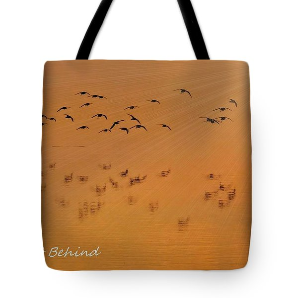 Tote Bag featuring the photograph Left Behind Too by Laura Ragland