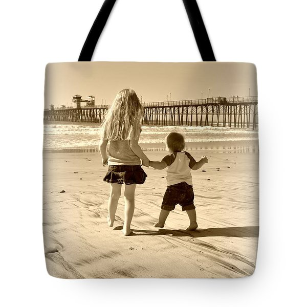 Tote Bag featuring the photograph Left Foot Right Foot by Amanda Eberly-Kudamik