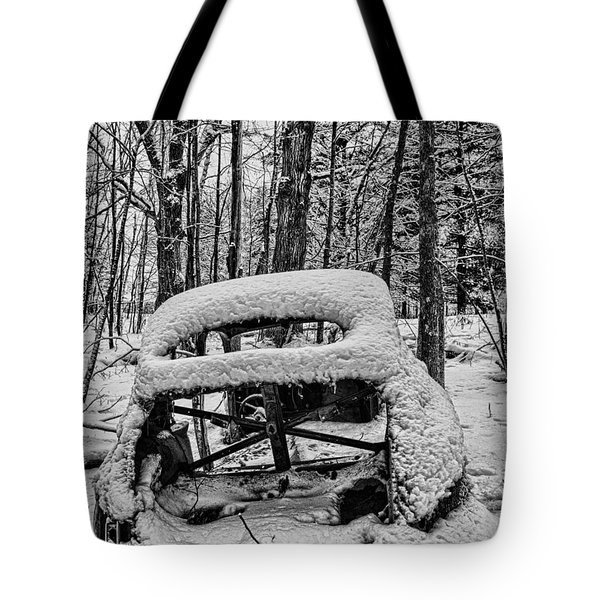 Left To Rust Tote Bag by Paul Freidlund