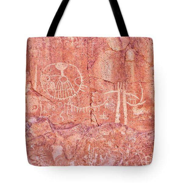 Petroglyphs Owens Valley California Tote Bag