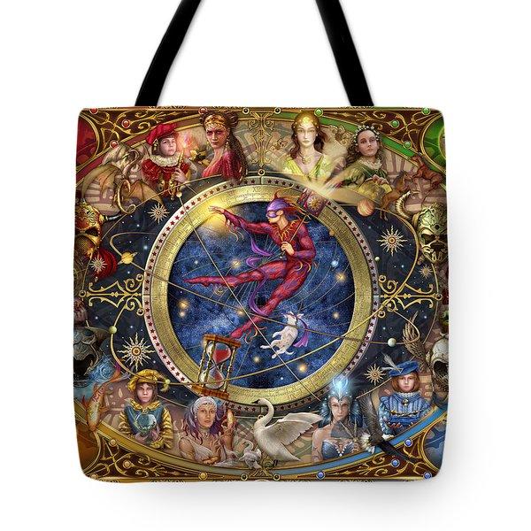 Legacy Of The Divine Tarot Tote Bag by Ciro Marchetti