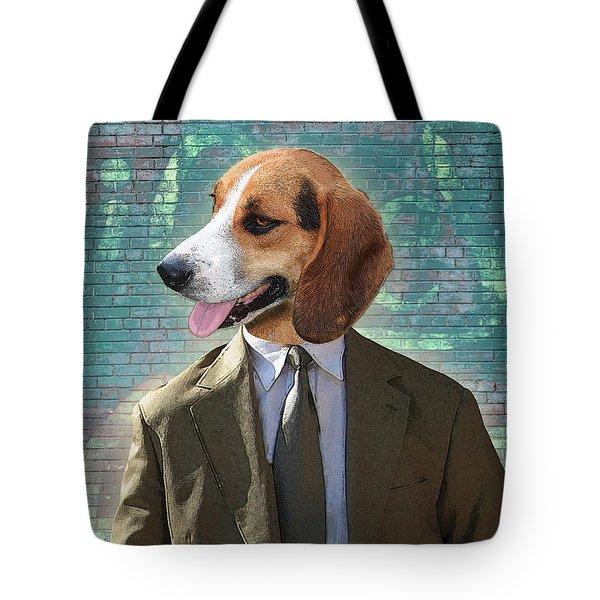 Legal Beagle Tote Bag by Nikki Smith